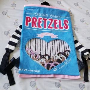 Luv Betsey by Betsey Johnson Pretzel Backpack NWT